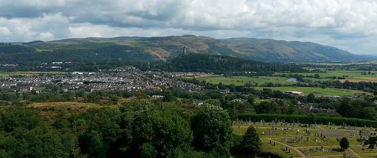 stirling castle history view wallace monument