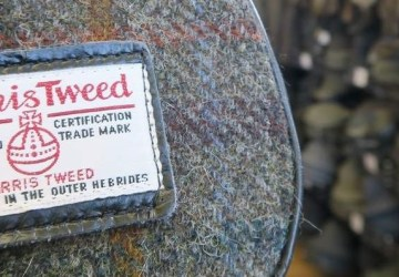 harris tweed isle of harris bags.