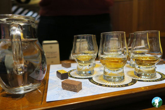 dalwhinnie whisky scottish highland road trips