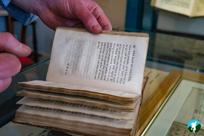 robert burns in dumfries manuscript