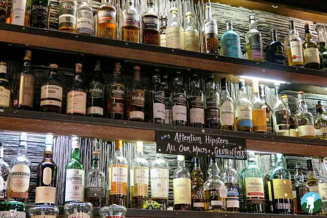 best whisky bars in glasgow gantry