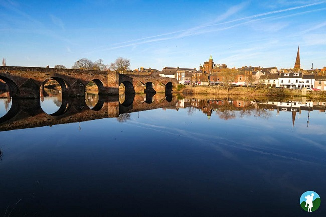 river nith devorgilla bridge dumfries