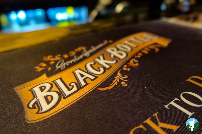 black bottle whisky glasgow
