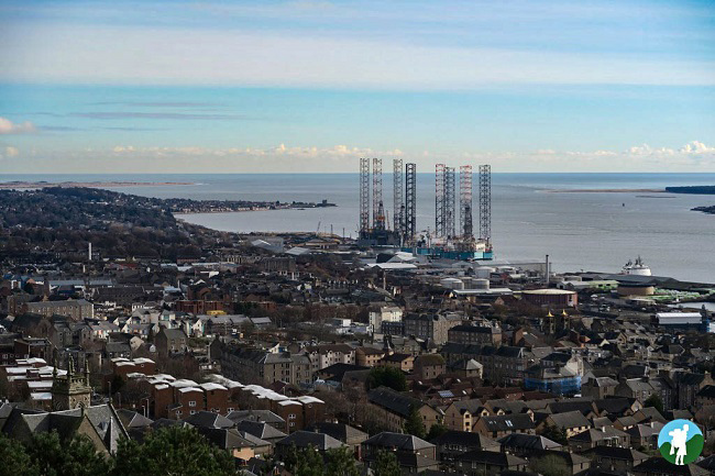dundee law looking east