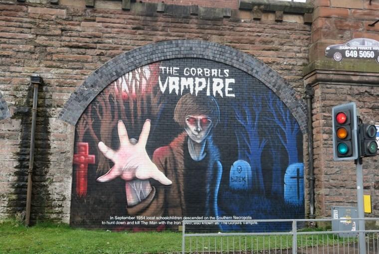 street art tours vampire gorbals