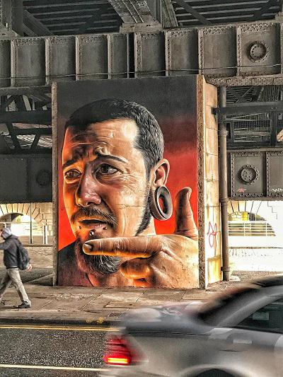 glasgow bridge street art
