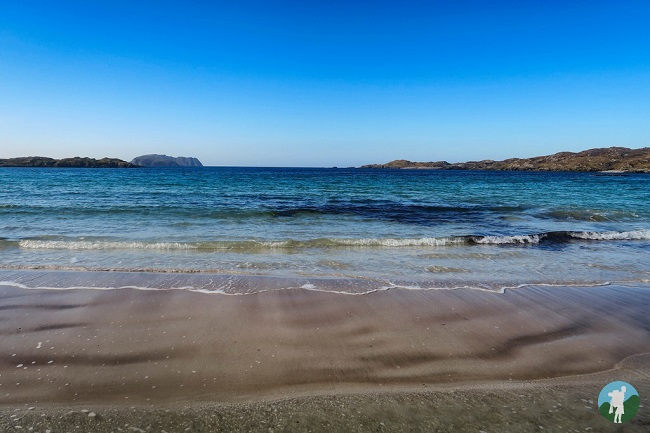 bosta beach great bernera turquoise