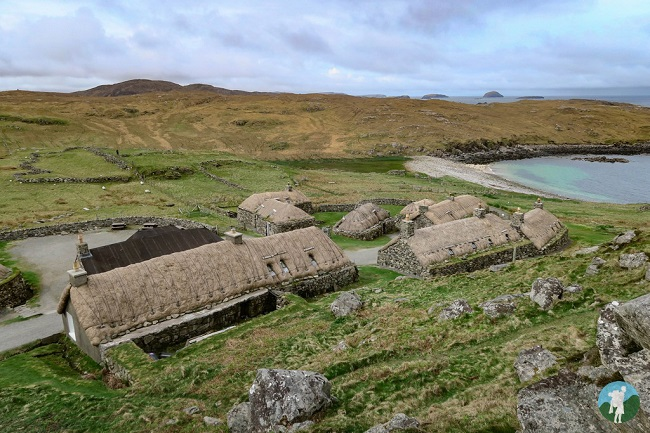 blackhouse village walk outer hebrides