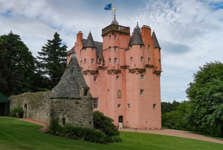 craigievar castle aberdeenshire jacobites
