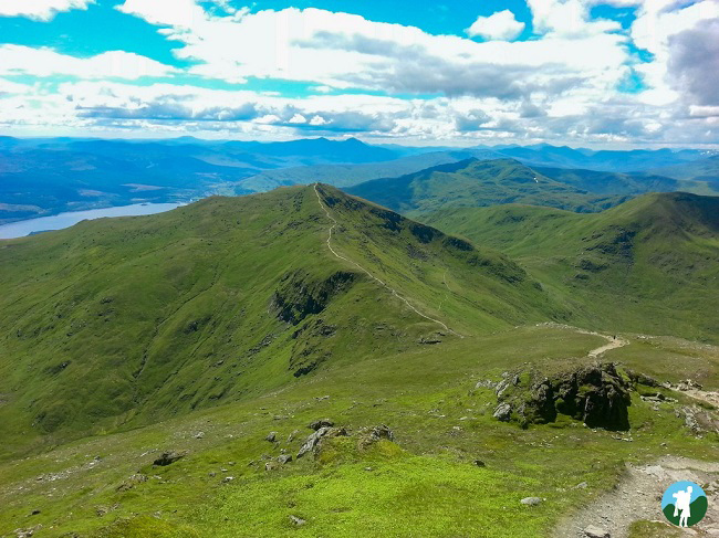 ben lawers map top 5 walks in scotland hike
