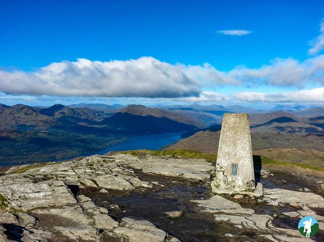 ben lomond trig hike scotland best