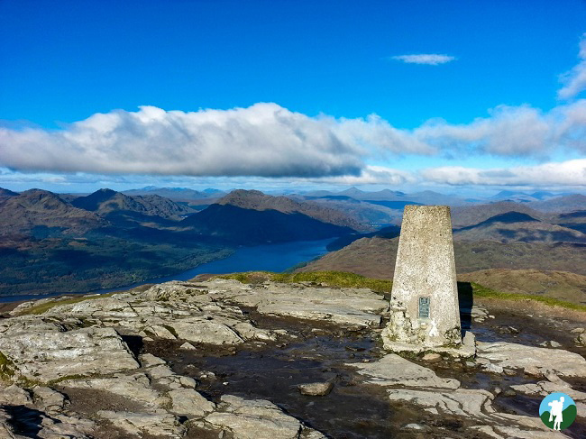 ben lomond trig hike scotland best