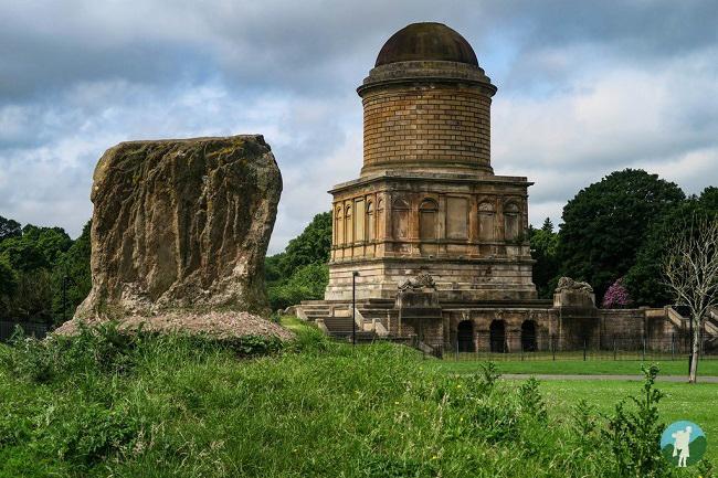hamilton mausoleum scotland in six digit