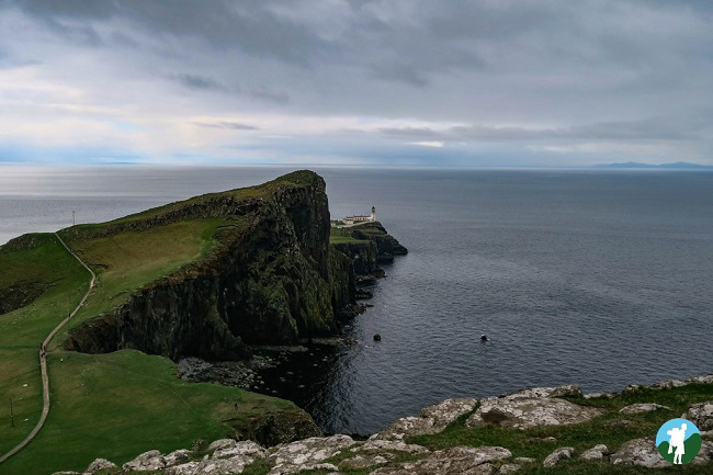 neist lighthouse which scottish island