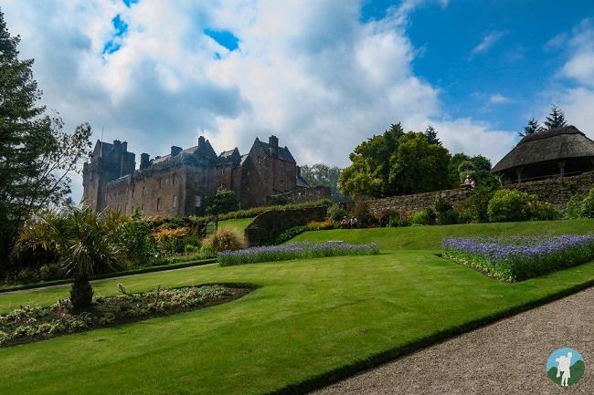 brodick castle gardens isle arran