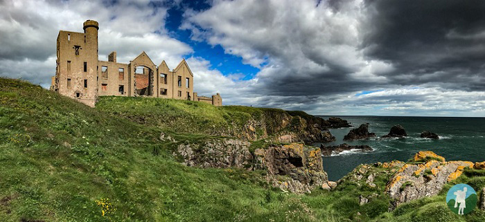 slains castle best clifftop castles in scotland
