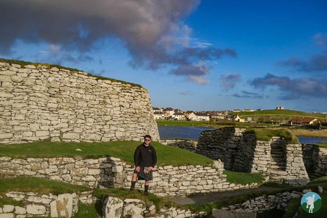 shetland travel blog clickimin broch lerwick