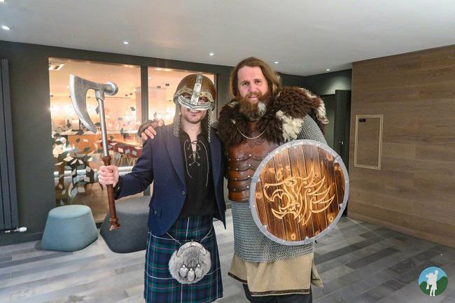 travels with a kilt shetland
