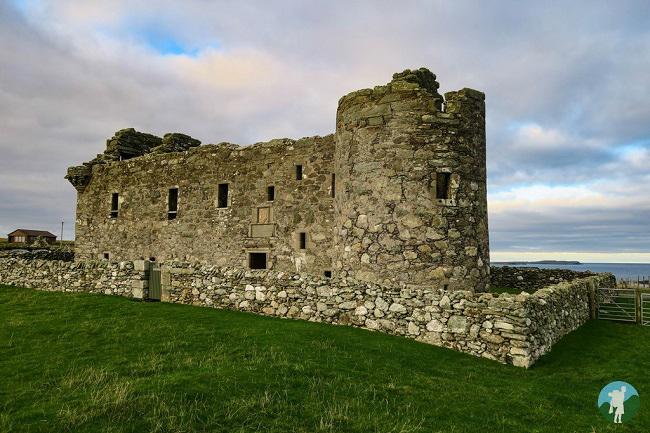 muness castle unst day trip shetland