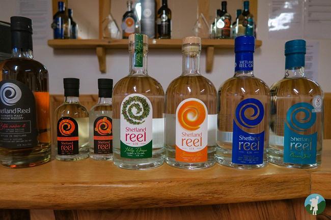 shetland distillery gin unst day trip