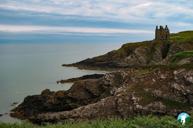 dunskey castle dumfries and galloway itinerary