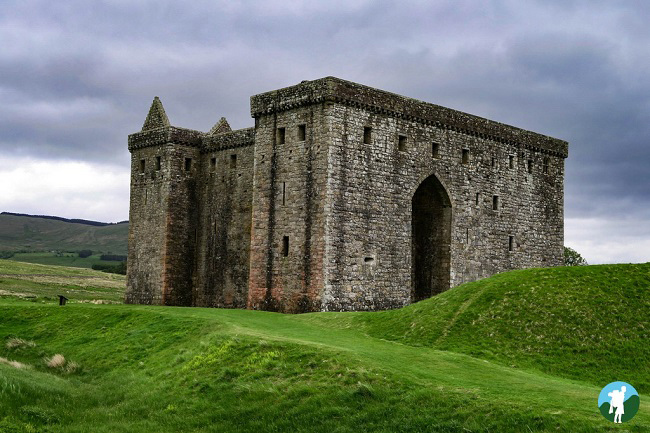 hermitage castle southern scotland itinerary