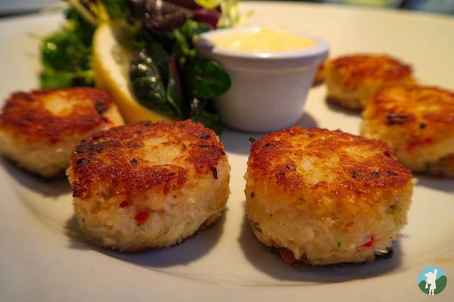crab cakes crabshakk glasgow