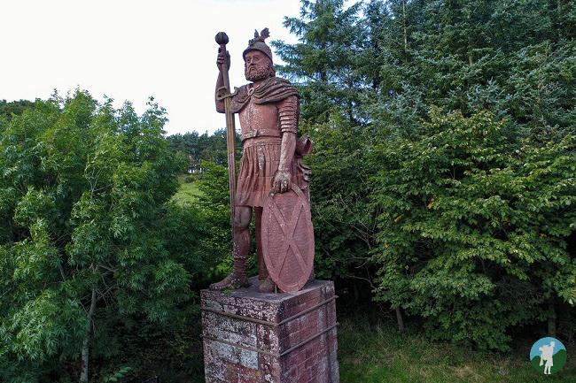 scottish borders william wallace quote statue