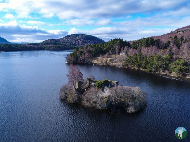 things to do near aviemore drone loch an eilein