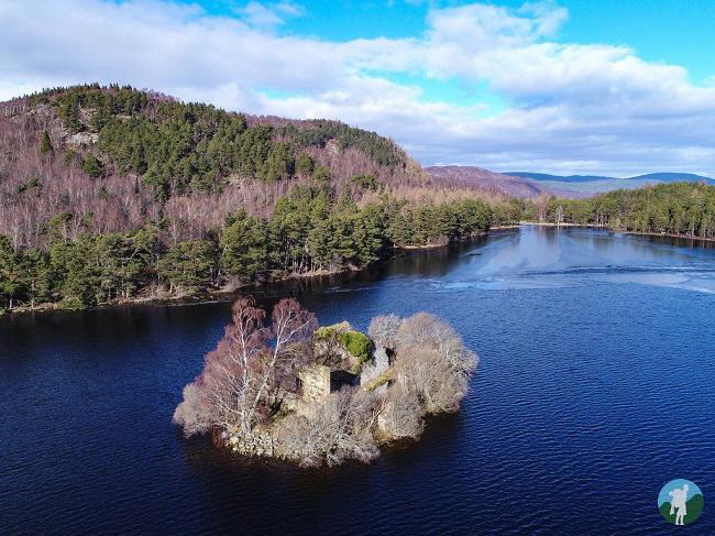 castle drone loch an eilein rothiemurchas