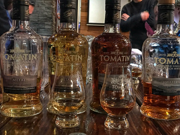 tomatin five virtues whisky 2018