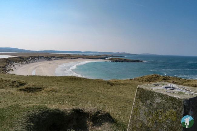 traigh udal north uist beaches