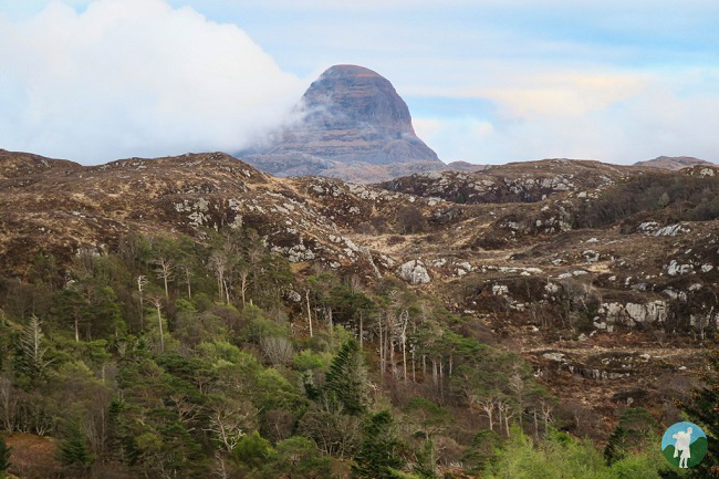 suilven from lochinver