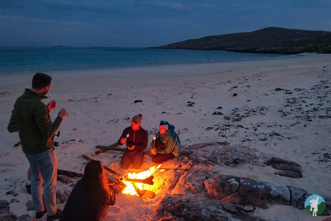 barbeque beach scotland