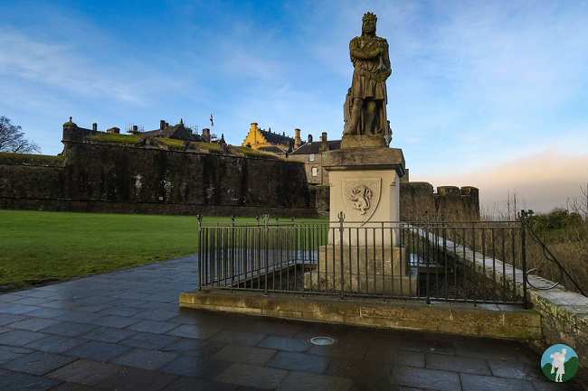 robert bruce outlaw king scotland vlog