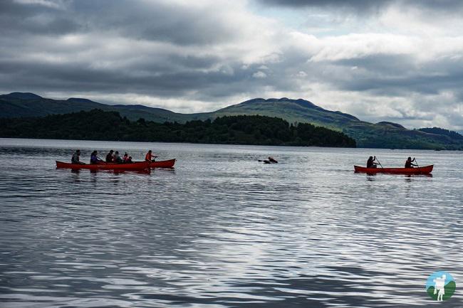 european championships canoe loch lomond scotland
