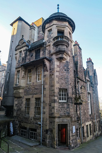 writer museum edinburgh