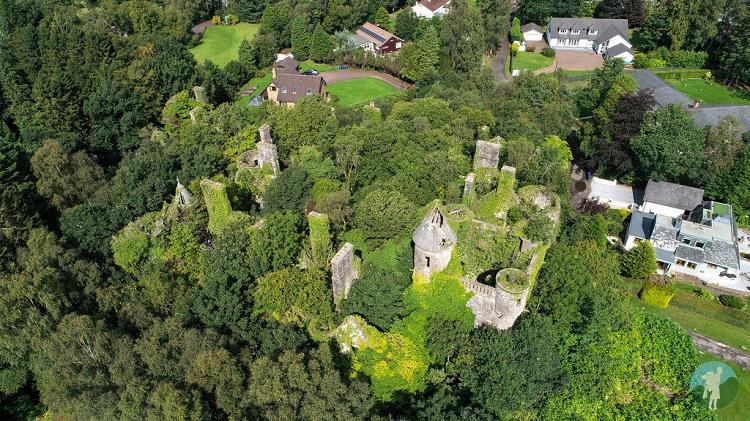 buchanan castle drone
