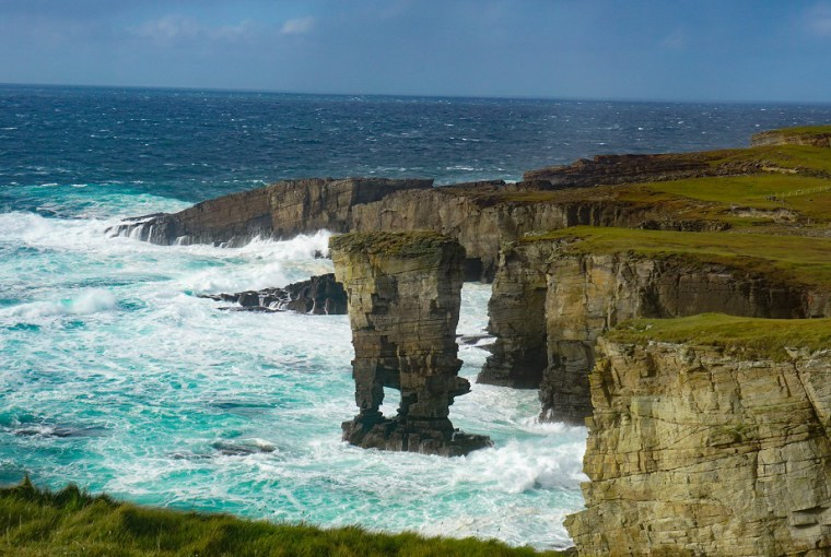 orkney day trips yesnaby castle