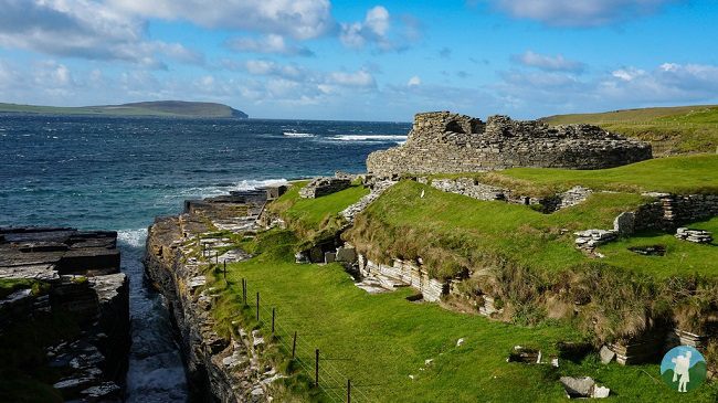 orkney midhowe broch day trips rousay