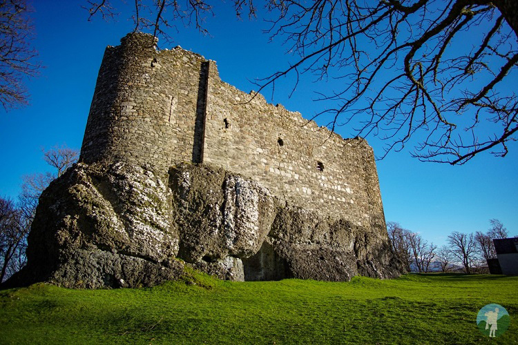 oban dunstaffnage castle