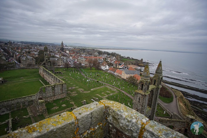 tower view st andrews cathedral