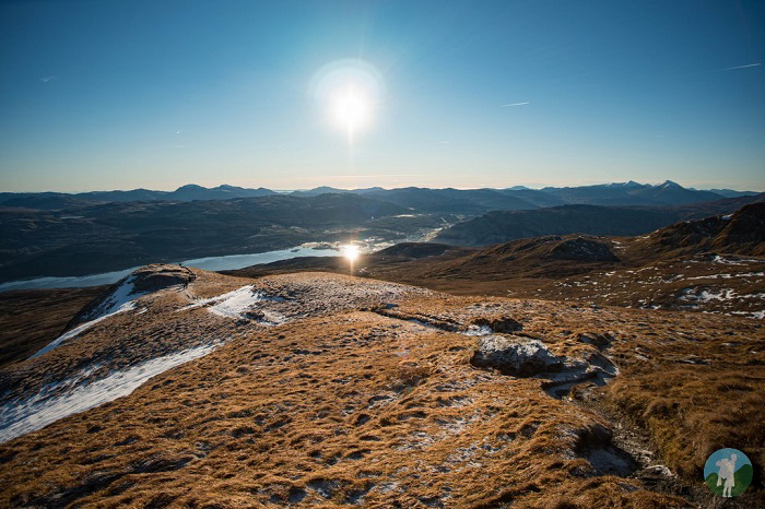 tarmachan winter walking scotland