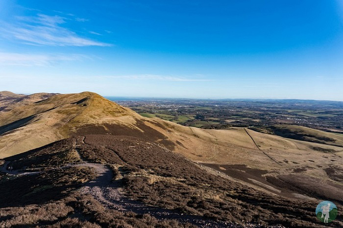 pentland hills hiking routes scotland