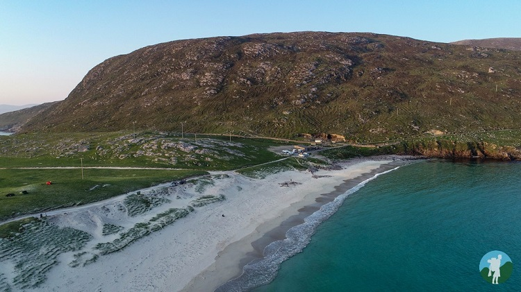 drone harris outer hebrides