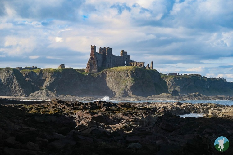 seacliff beach tantallon castle east lothian