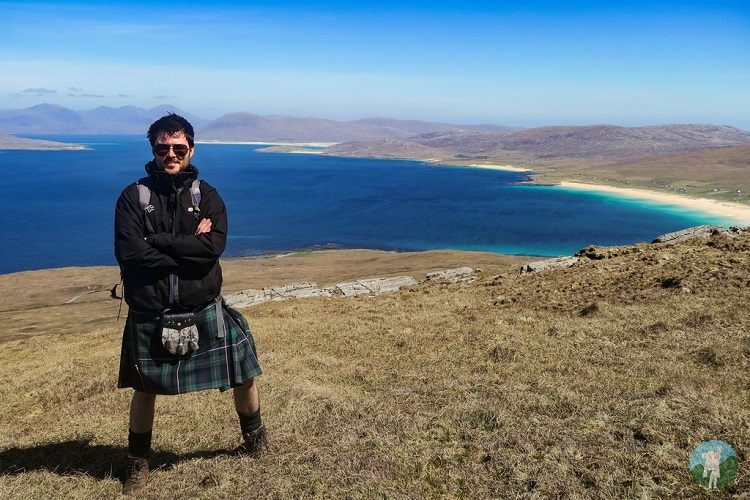 travels with a kilt outer hebrides