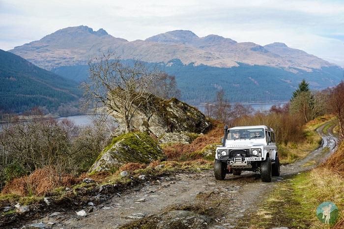 4x4 adventures scotland loch lomond
