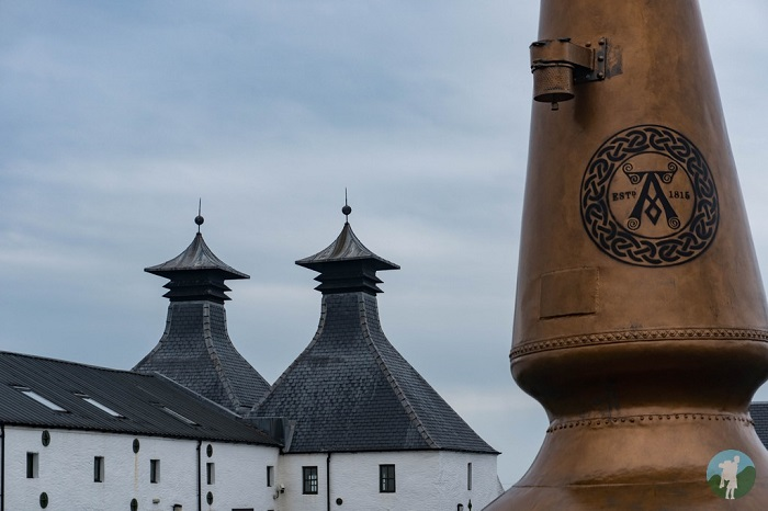 laphroaig distillery islay pagoda