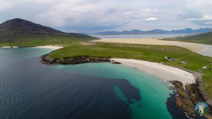 Drone Outer Hebrides